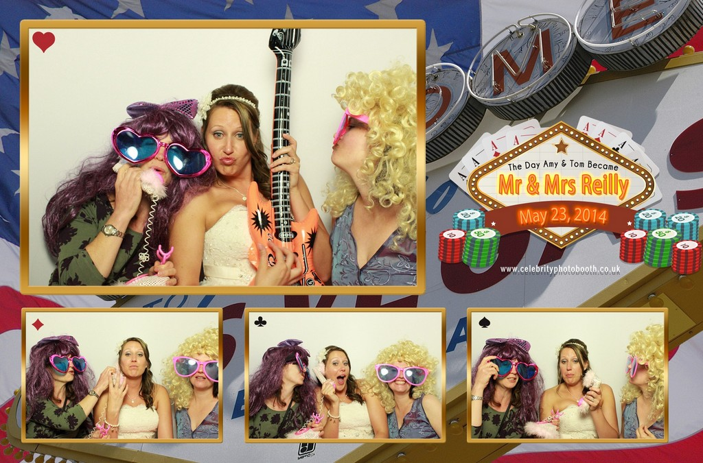 Photo Booth Hire Bromsgrove - Amy & Tom's Wedding