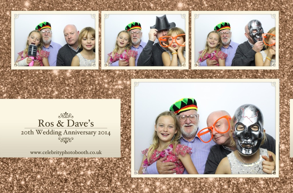 Photo Booth Hire London - Ros & Dave's 20th Wedding Anniversary