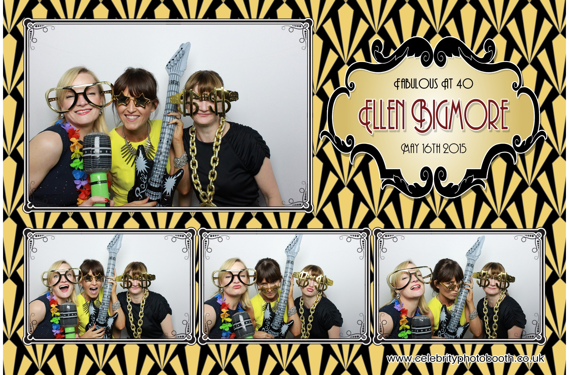 VIP Photo Booth Package - 3 Hours With Multiple Prints - £495