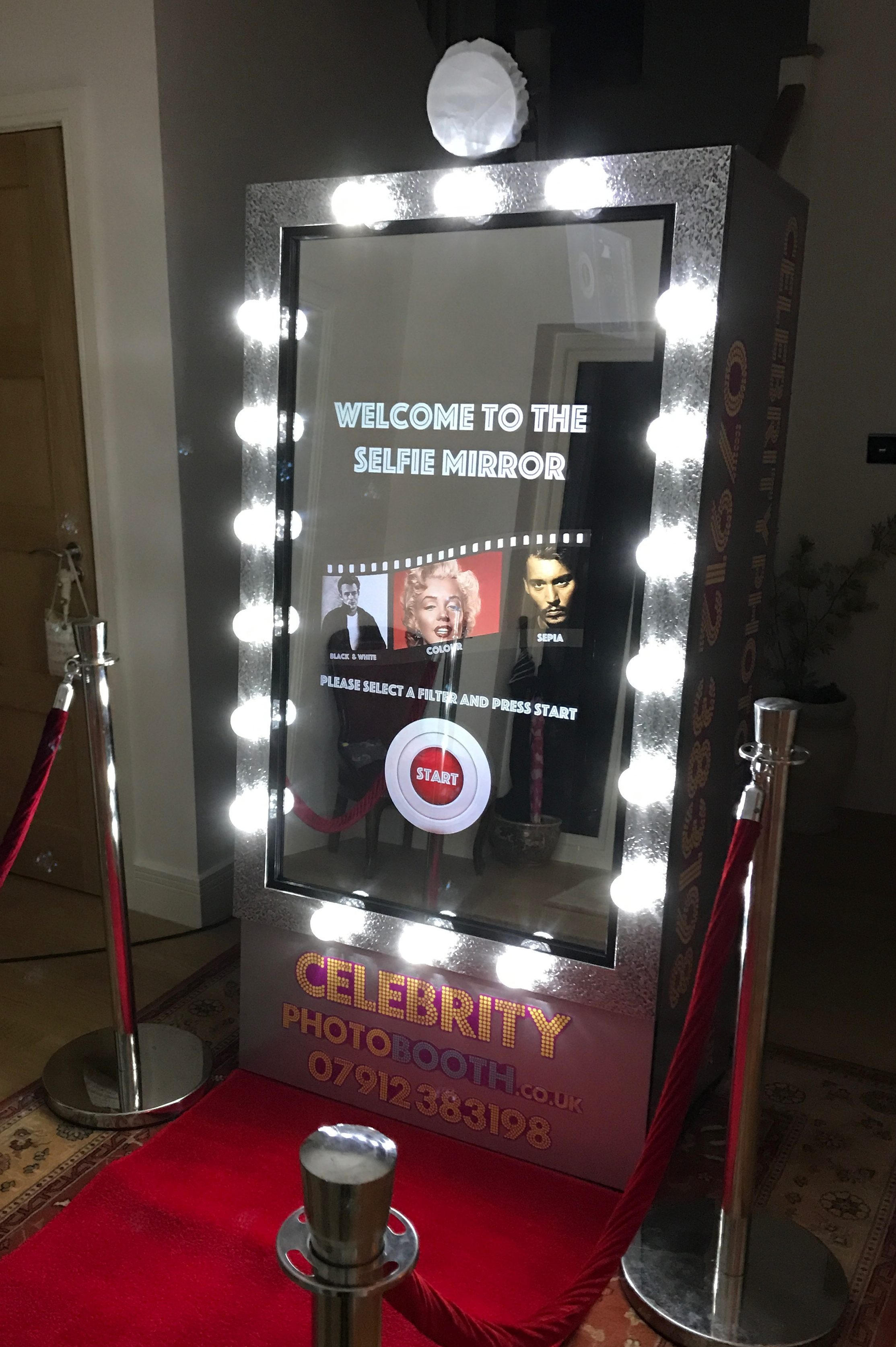 Celebrity Photo Booth - Photo Booth Hire - 07912 383198