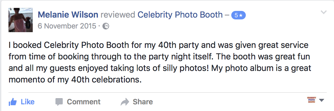 Photo Booth Hire Northamptonshire Celebrity Photo Booth